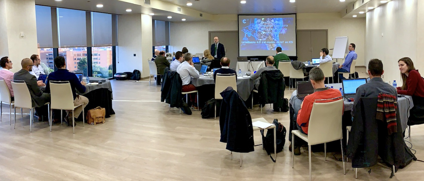CCI held in November the XVII edition of the Multidisciplinary course of Digital Security in Industry [4.0] and protection of essential services