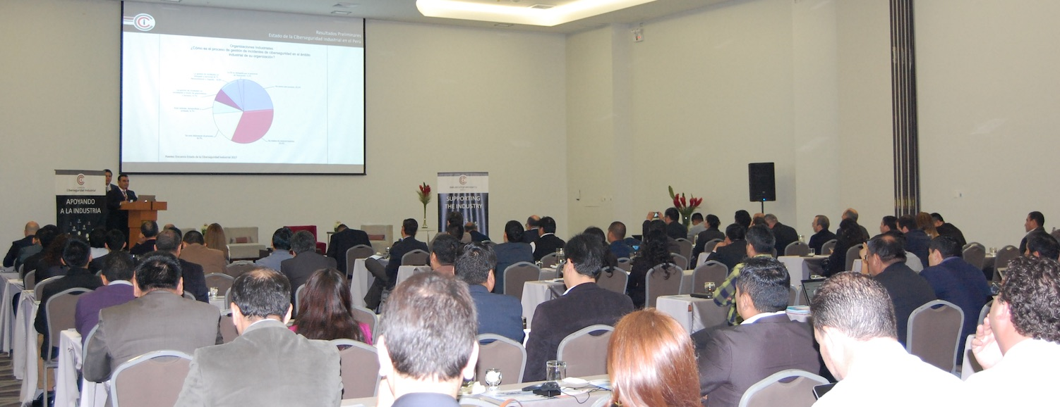 Great attendance at the VIII International Congress of Industrial Cybersecurity that ICC held on June 7 and 8 in Lima, Peru