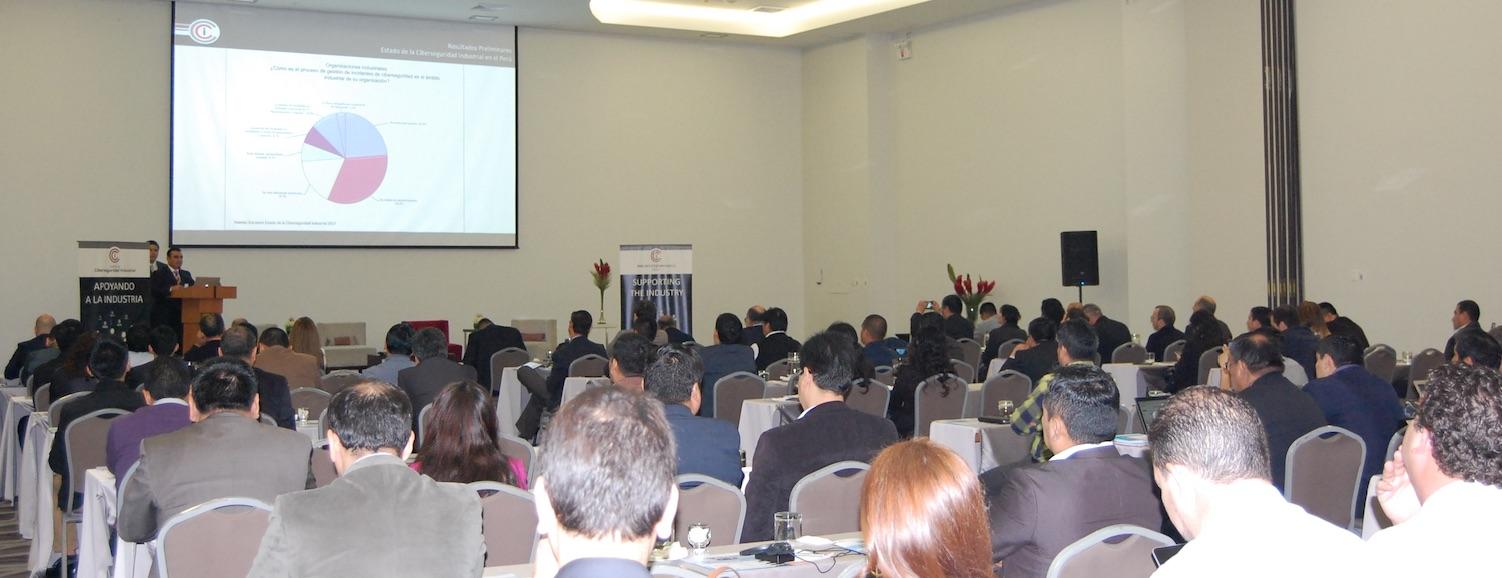 Gran asistencia en el VIII Congreso Internacional de Ciberseguridad Industrial que CCI ha celebrado el 7 y 8 de junio en Lima, Perú