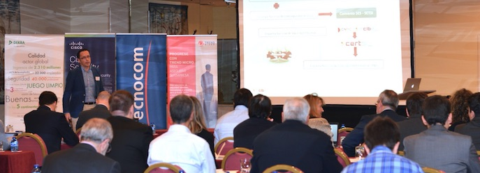 A demanding public at the last meeting of The Voice of Industry 2015 held in Madrid