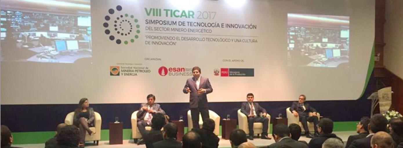 El Coordinador del Centro en Perú, Ernesto Landa, participa en el VIII TICAR 2017